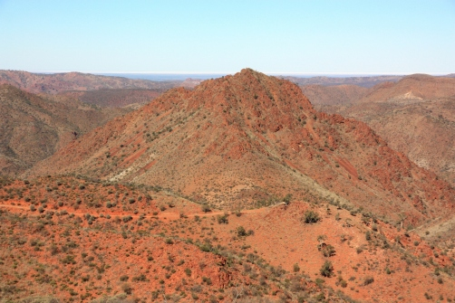 The Northern Flinders Ranges are very very ancient and were once a sea bed!
