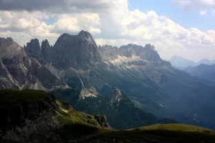 The Dolomites in Italy, famed for their jaggedness and via ferrata for the intrepid
