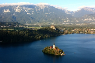 The Julien Alps in Slovenia provide a picturesque alternative to the more frequented mountain zones of Europe. Bled, as gorgeous as a fairytale in a chocolate box, sits at its heart.